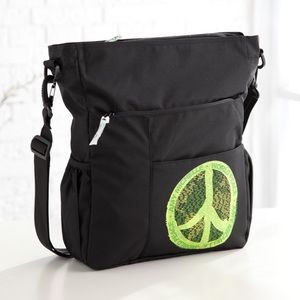 Discontinued Amy Michelle World Peace Diaper Bag